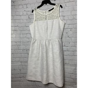 THE LIMITED LACE FIT AND FLARE DRESS S 8